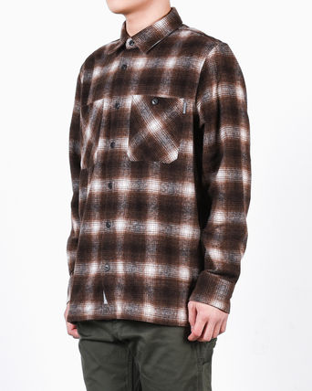 Carhartt Shirts Other Check Patterns Street Style Long Sleeves Cotton 6