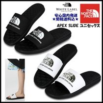 THE NORTH FACE WHITE LABEL Unisex Street Style Shower Shoes Shower Sandals