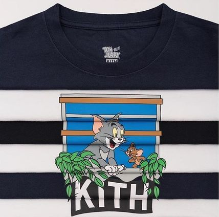 KITH NYC More T-Shirts Street Style Collaboration Plain T-Shirts
