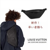 Louis Vuitton BUMBAG Monogram Unisex Street Style Leather Hip Packs