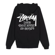 STUSSY Pullovers Unisex Street Style Collaboration Long Sleeves