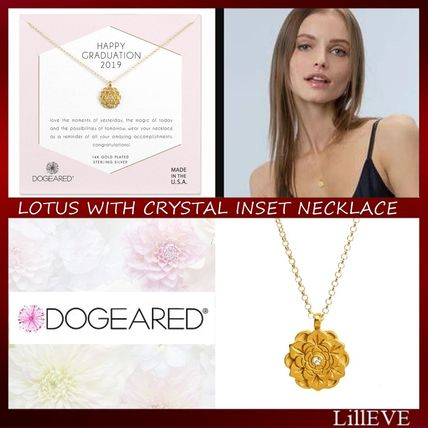 Casual Style Silver Brass 14K Gold Necklaces & Pendants