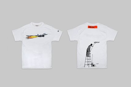 Off-White More T-Shirts Street Style Collaboration Plain T-Shirts 2