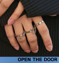 OPEN THE DOOR Metal Rings