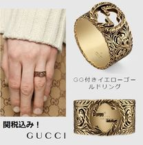 GUCCI Unisex 18K Gold Rings