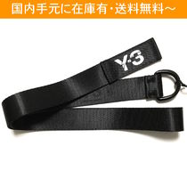 Y-3 Unisex Street Style Collaboration Belts