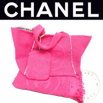 CHANEL ICON Street Style Handmade Oversized Mothers Bags