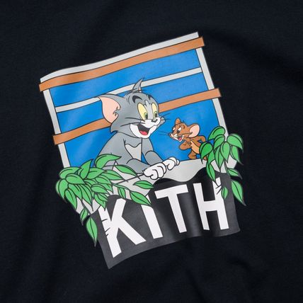 KITH NYC Long Sleeve Unisex Street Style Collaboration Long Sleeves Cotton 11