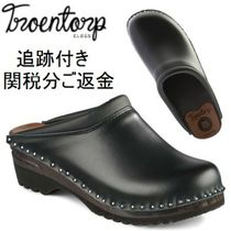 Troentorp Unisex Plain Leather Loafers & Slip-ons