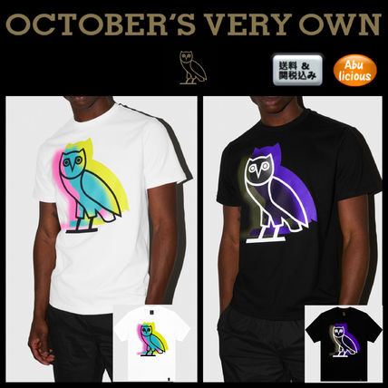 OCTOBERS VERY OWN More T-Shirts Plain Short Sleeves T-Shirts