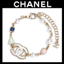 CHANEL Blended Fabrics Chain Fine