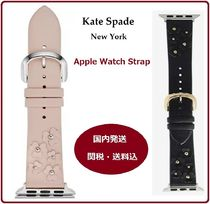 kate spade new york Leather Elegant Style Apple Watch Belt Watches