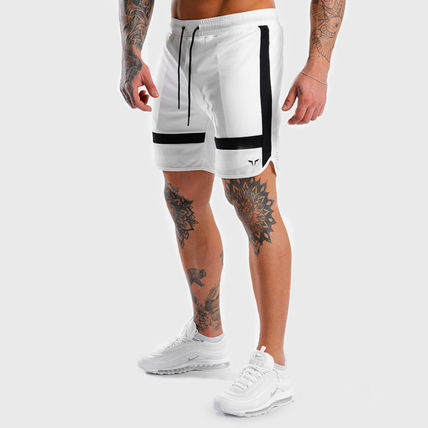 SQUAT WOLF Joggers Street Style Joggers Shorts