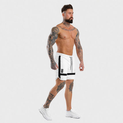 SQUAT WOLF Joggers Street Style Joggers Shorts 6