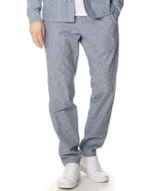 A.P.C. PETIT NEW STANDARD  Printed Pants Stripes Street Style Cotton Patterned Pants