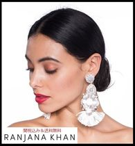 RANJANA KHAN Blended Fabrics Handmade Party Style With Jewels Fine