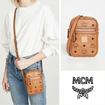 MCM Casual Style Faux Fur Street Style 2WAY Shoulder Bags