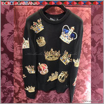 Dolce & Gabbana Crew Neck Long Sleeves Knits & Sweaters