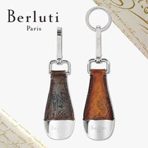 Berluti Leather Keychains & Holders