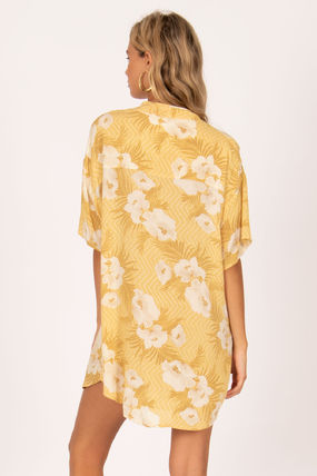 Flower Patterns Tropical Patterns Casual Style Medium