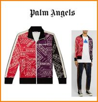 Palm Angels Paisley Street Style Track Jackets