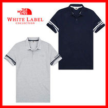 THE NORTH FACE WHITE LABEL Unisex Cotton Short Sleeves Polos
