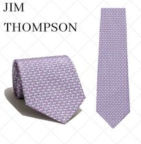 JIM THOMPSON Flower Patterns Silk Other Animal Patterns Ties