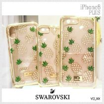 SWAROVSKI Tropical Patterns With Jewels Smart Phone Cases