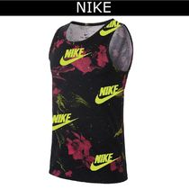 Nike Flower Patterns Cotton Tanks