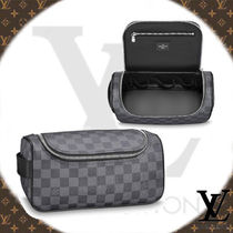 Louis Vuitton DAMIER GRAPHITE Other Check Patterns Canvas Wallets & Small Goods
