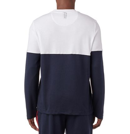 Tommy Hilfiger Long Sleeve Crew Neck Street Style Long Sleeves Cotton 6