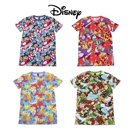 Disney More T-Shirts Unisex Collaboration Cotton Short Sleeves T-Shirts