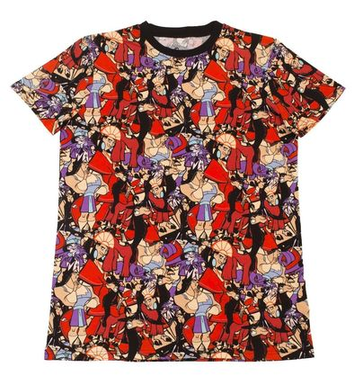 Disney More T-Shirts Unisex Collaboration Cotton Short Sleeves T-Shirts 7