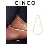 CINCO Casual Style Unisex Chain Handmade Anklets
