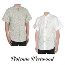 Vivienne Westwood Camouflage Cotton Short Sleeves Shirts