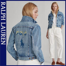 POLO RALPH LAUREN Casual Style Denim Medium Jackets