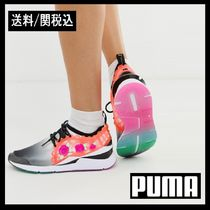 PUMA Flower Patterns Lace-up Casual Style Collaboration
