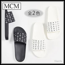 MCM Monogram Street Style Shower Shoes Shower Sandals