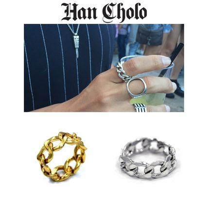 Casual Style Unisex Street Style Chain Rings