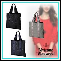 Vivienne Westwood Casual Style Blended Fabrics A4 Home Party Ideas Totes