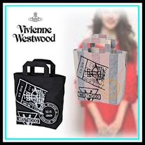Vivienne Westwood Casual Style Blended Fabrics Home Party Ideas Totes
