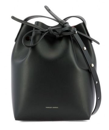 Plain Leather Purses Shoulder Bags