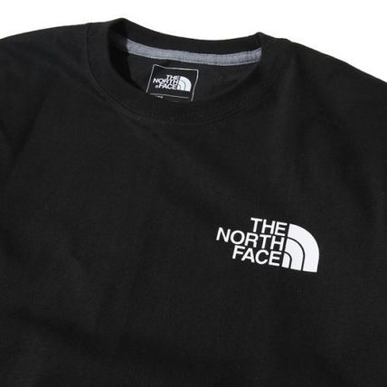 THE NORTH FACE Long Sleeve Unisex U-Neck Long Sleeves Cotton Logos on the Sleeves 4