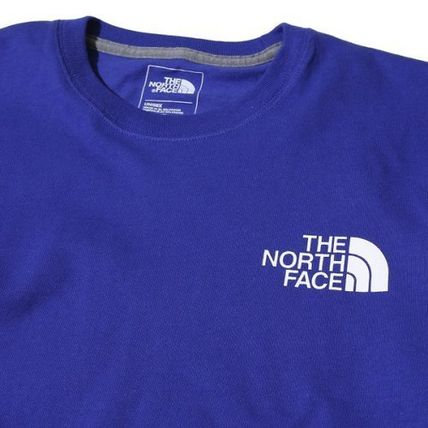THE NORTH FACE Long Sleeve Unisex U-Neck Long Sleeves Cotton Logos on the Sleeves 10