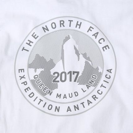 THE NORTH FACE Long Sleeve Unisex U-Neck Long Sleeves Cotton Logos on the Sleeves 19