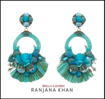 RANJANA KHAN Blended Fabrics Handmade With Jewels Elegant Style Fine
