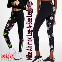 Nike AIR MAX Street Style Cotton Leggings Pants
