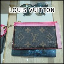 Louis Vuitton 2019-20AW ZIPPED CARD HOLDER  pink one size card case