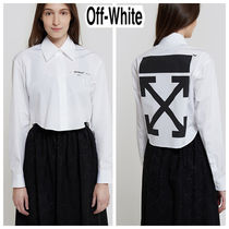 Off-White Long Sleeves Shirts & Blouses