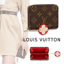 Louis Vuitton 2019-20AW ZIPPY COIN PURSE brown one size long wallet